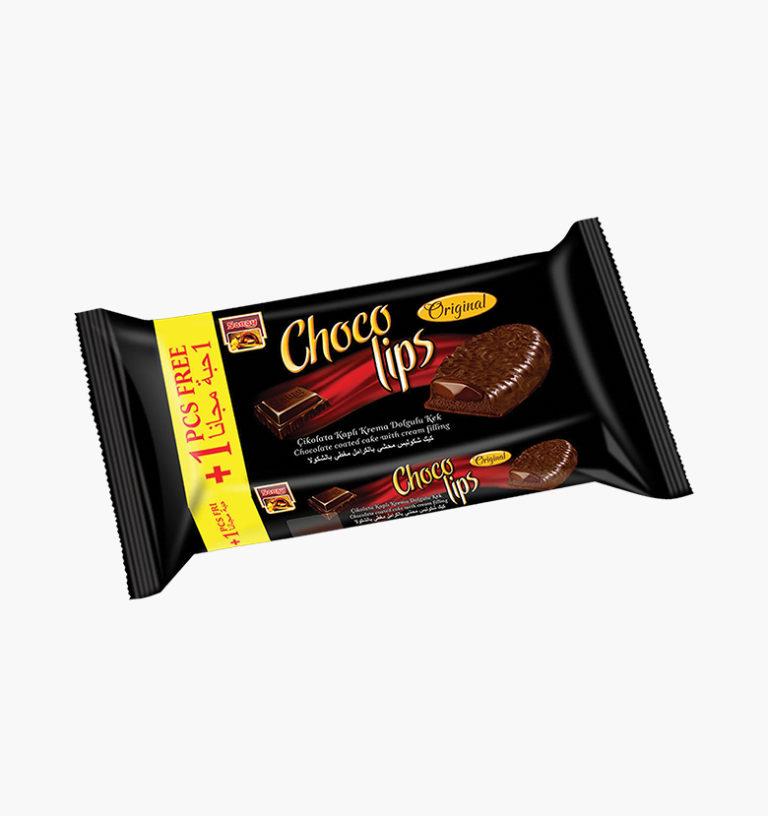 Шоколадный торт с шоколадной глазурью и шоколадной начинкой Chocolips