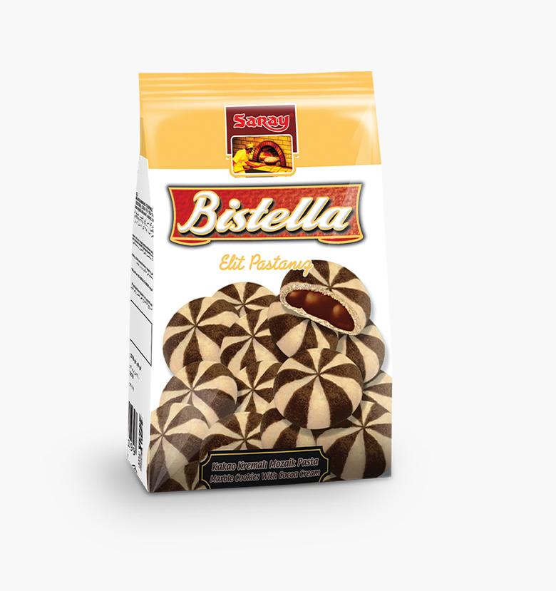 Печенье с мозаикой с кремом из какао Bistella