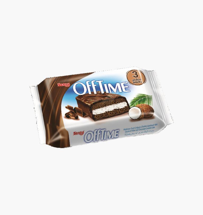Торт с кокосовой начинкой и шоколадной глазурью 3 MP Offtime