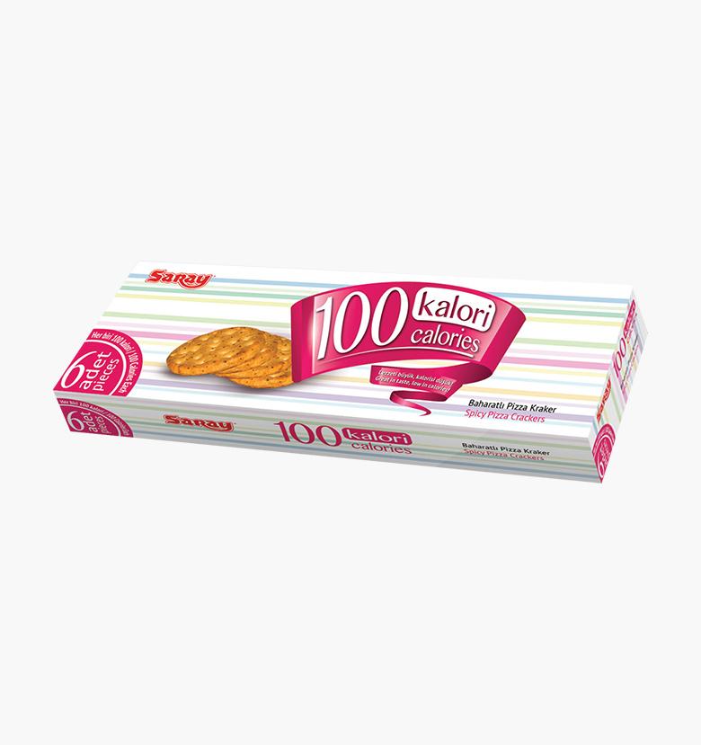 Крекер-пицца с пряностями 100 Calories  Pizza Cracker