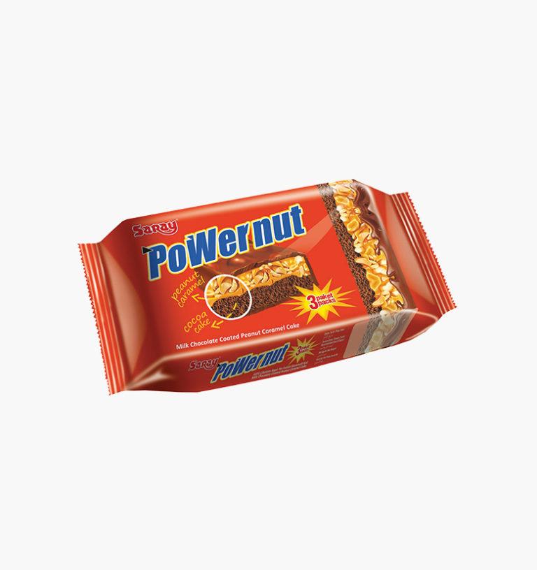 Арахисово-карамельный торт с молочным шоколадом Powernut