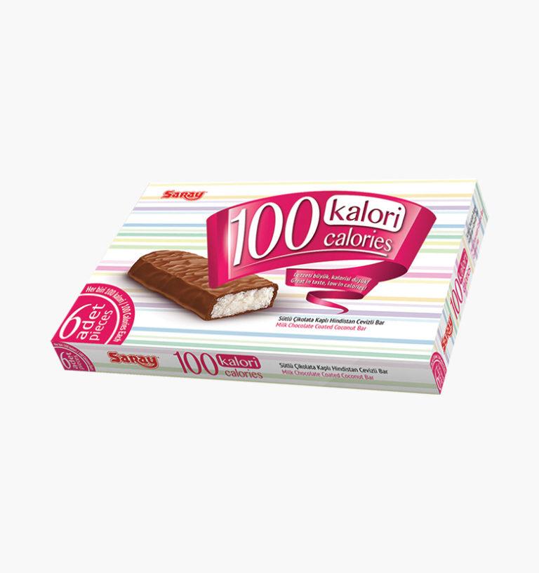 Шоколадный батончик с кокосовой начинкой 100 Calories