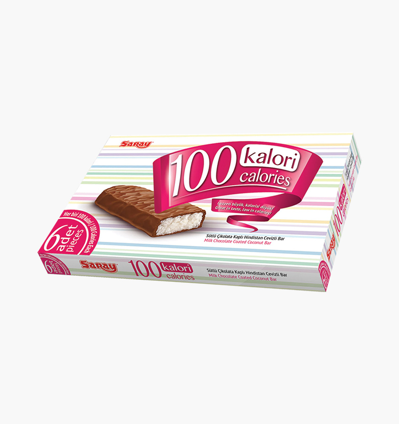 3 100 Calori Coconut Bar 132g