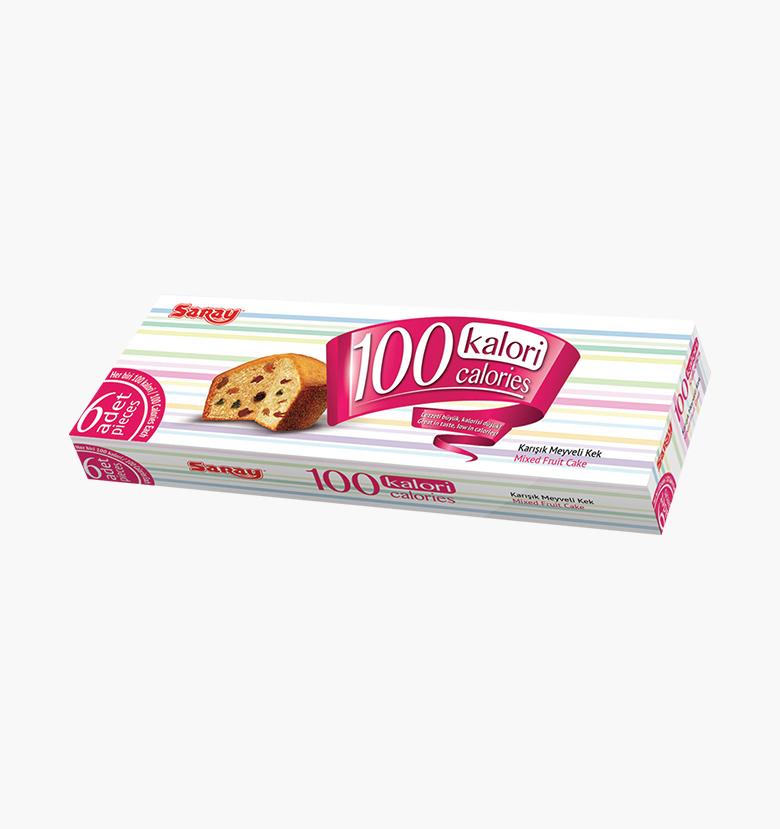 Кекс фруктовый микс 100 Calories