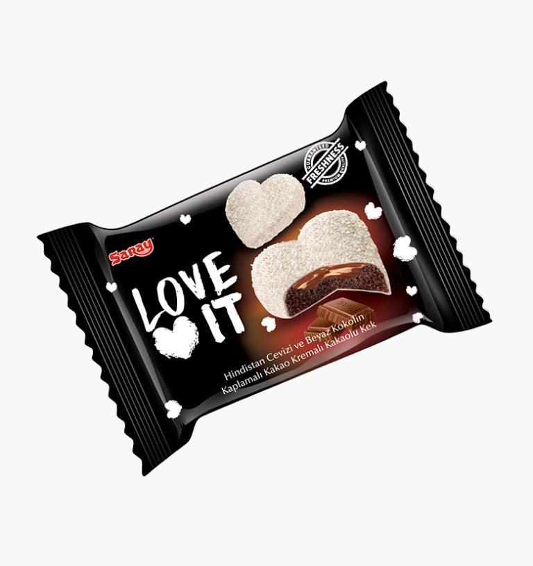 Бисквит в белой глазури Love It Cake Cocoa
