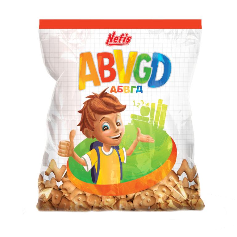 ABVGD. Печенье затяжное с ванильным ароматом
