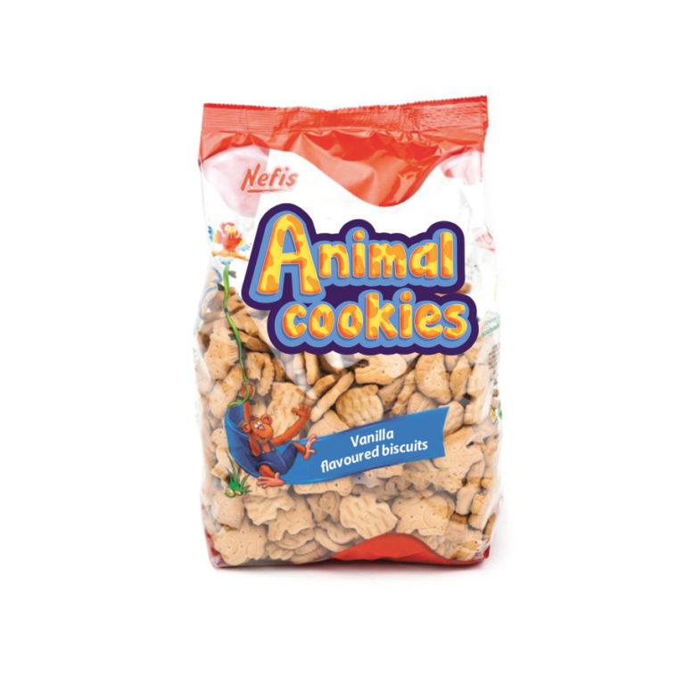 ANIMAL COOKIES. Печенье затяжное с ванильным ароматом