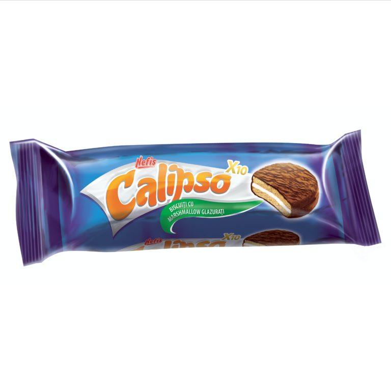 CALIPSO X10. Двойное печенье с маршмаллоу, глазированное