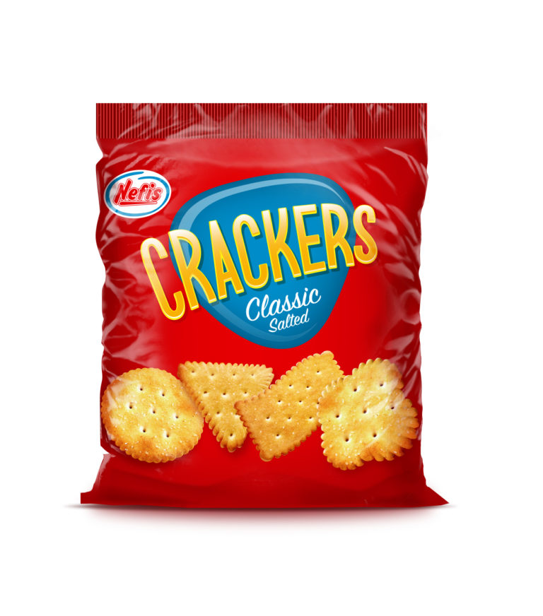 CRACKERS SALTED  с солью