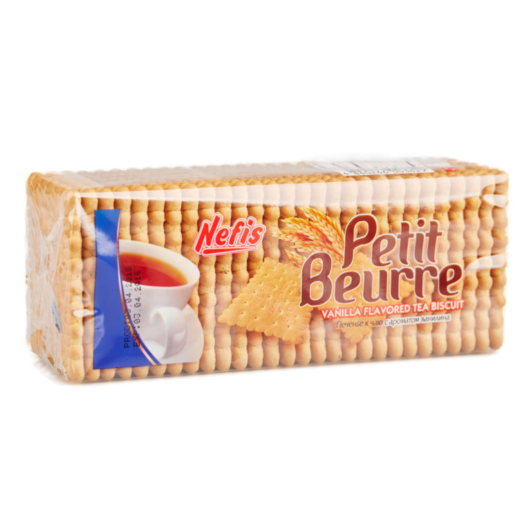 PETIT BEURRE. Печенье затяжное с ванильным ароматом